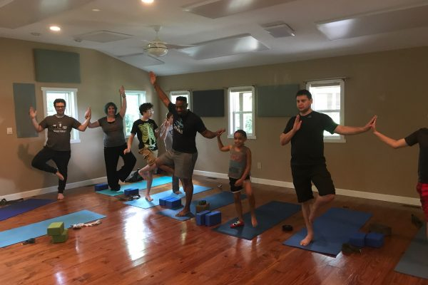 Family Tree Pose
